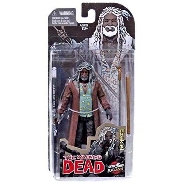 マクファーレン トイズ ウォーキングデッド アクションフィギュア ダイキャスト McFarlane Toys The Walking Dead Comic Book Ezekiel Action Figure [Color]