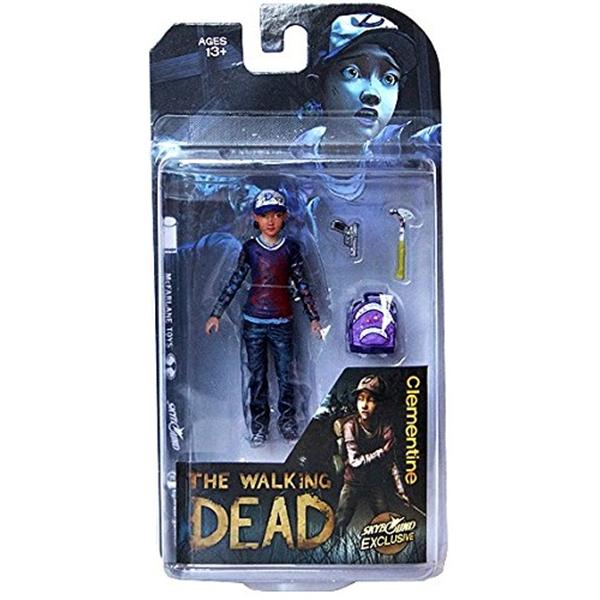マクファーレン トイズ ウォーキングデッド アクションフィギュア ダイキャスト McFarlane Toys The Walking Dead Clementine Action Figure (Bloody Version)