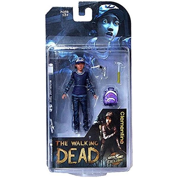 マクファーレン トイズ ウォーキングデッド アクションフィギュア ダイキャスト McFarlane Toys The Walking Dead Clementine Action Figure (Clean Version)