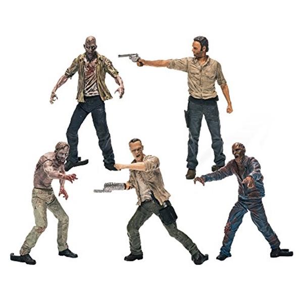 マクファーレン トイズ ウォーキングデッド アクションフィギュア ダイキャスト McFarlane Toys Building Sets- The Walking Dead TV Figure Pack 1 Assortment (Humans and Walkers Will Vary)