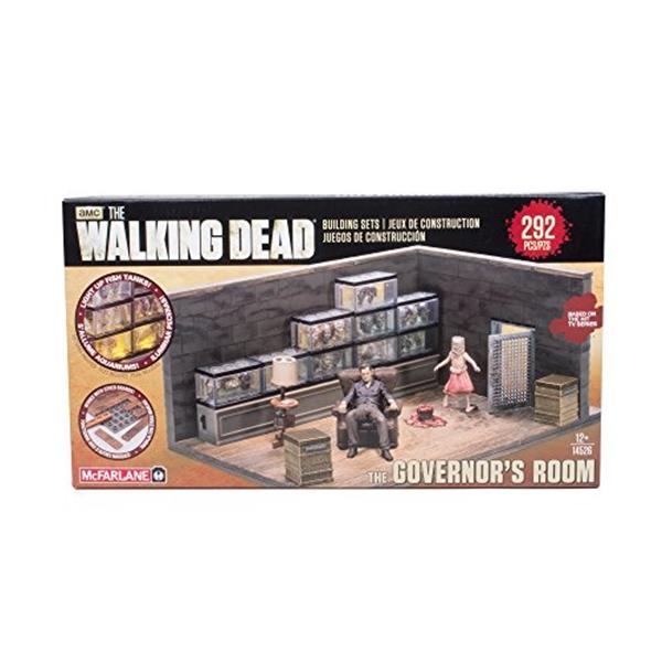 マクファーレン トイズ ウォーキングデッド アクションフィギュア ダイキャスト McFarlane Toys Building Sets -The Walking Dead TV The Governor's Room Building Set Assortment