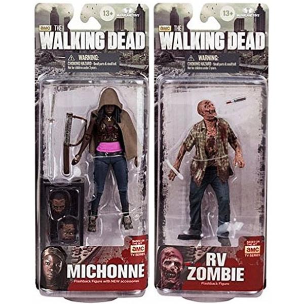 マクファーレン トイズ ウォーキングデッド アクションフィギュア ダイキャスト McFarlane Toys The Walking Dead AMC TV Series TV Series 6 Set of 2 6