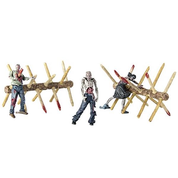 マクファーレン トイズ ウォーキングデッド アクションフィギュア ダイキャスト McFarlane Toys Construction Sets- The Walking Dead TV Walker Barrier Accessory