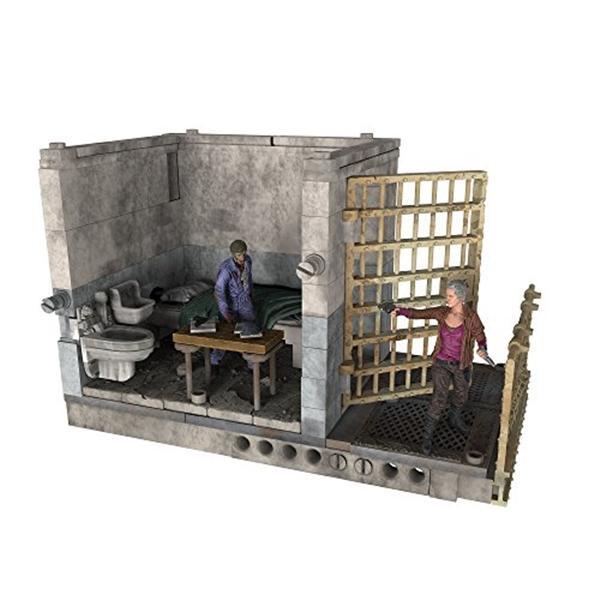 マクファーレン トイズ ウォーキングデッド アクションフィギュア ダイキャスト McFarlane Toys Construction Sets- The Walking Dead TV Upper Prison Cell? Set
