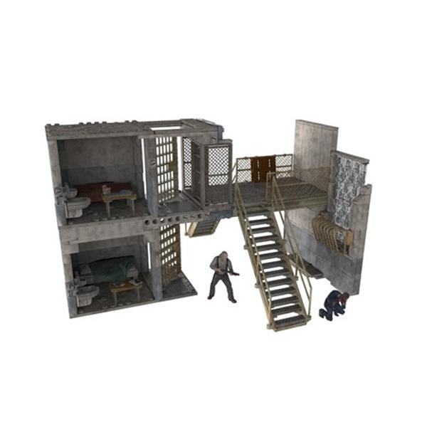 マクファーレン トイズ ウォーキングデッド アクションフィギュア ダイキャスト McFarlane Toys Construction Sets, The Walking Dead TV Prison Catwalk, Play Set (Discontinued by manufacturer)