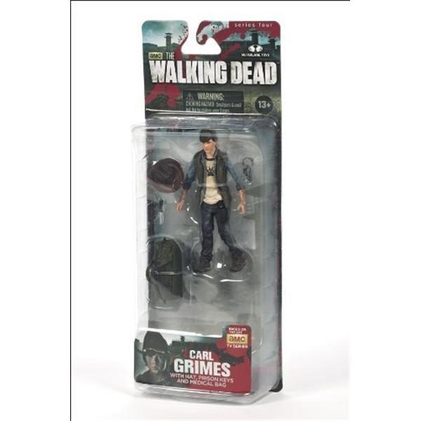 マクファーレン トイズ ウォーキングデッド アクションフィギュア ダイキャスト McFarlane Toys The Walking Dead TV Series 4 Carl Grimes Action Figure by Unknown