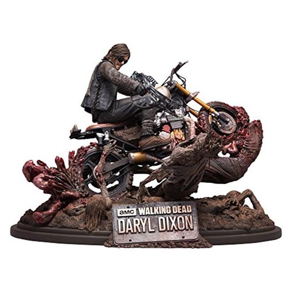 マクファーレン トイズ ウォーキングデッド アクションフィギュア ダイキャスト McFarlane Toys The Walking Dead Daryl Dixon Limited Edition Resin Statue