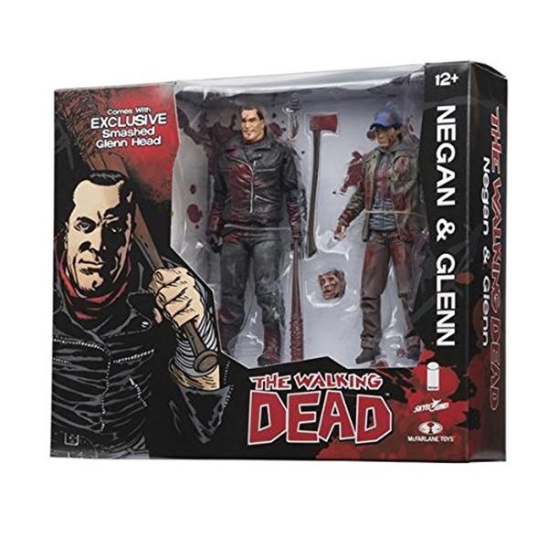 マクファーレン トイズ ウォーキングデッド アクションフィギュア ダイキャスト McFarlane Toys The Walking Dead Negan & Glenn Exclusive Action Figure 2-Pack [Full Color] by Walking Dead