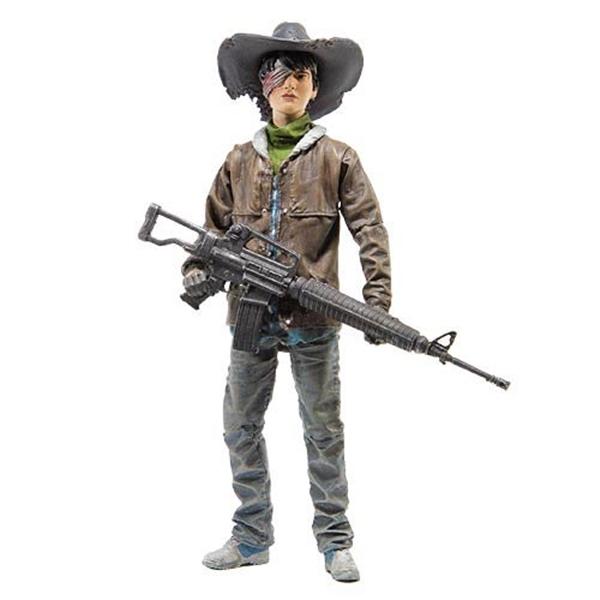 マクファーレン トイズ ウォーキングデッド アクションフィギュア ダイキャスト Walking Dead Comic Carl Grimes