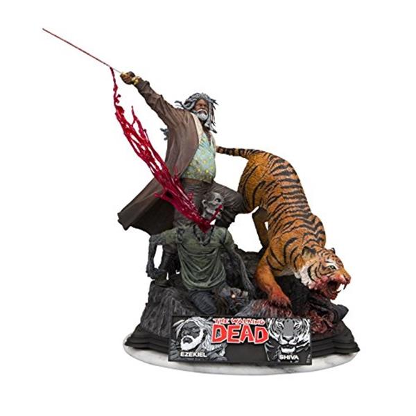 マクファーレン トイズ ウォーキングデッド アクションフィギュア ダイキャスト McFarlane Toys the Walking Dead Limited Edition and Action Statue 入手困難 Ezekiel 人気ブランド Figure Shiva Resin