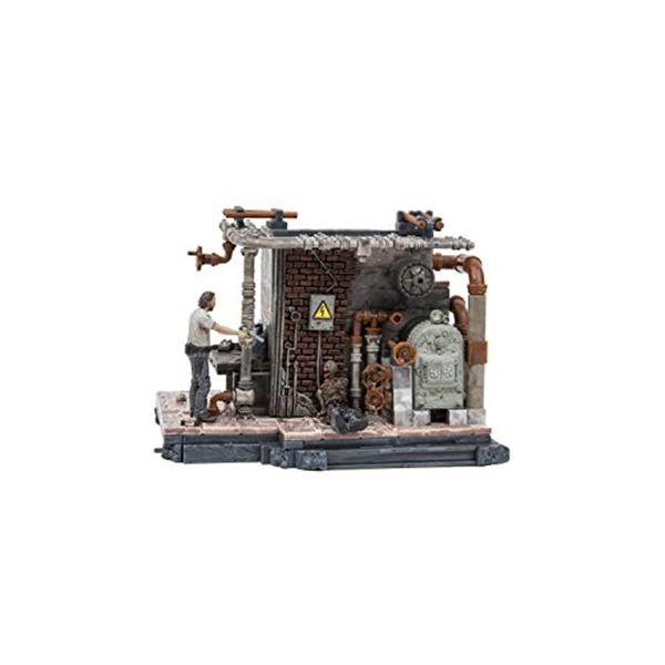 マクファーレン トイズ ウォーキングデッド アクションフィギュア ダイキャスト McFarlane Toys The Walking Dead TV Boiler Room 176 Piece Building Set