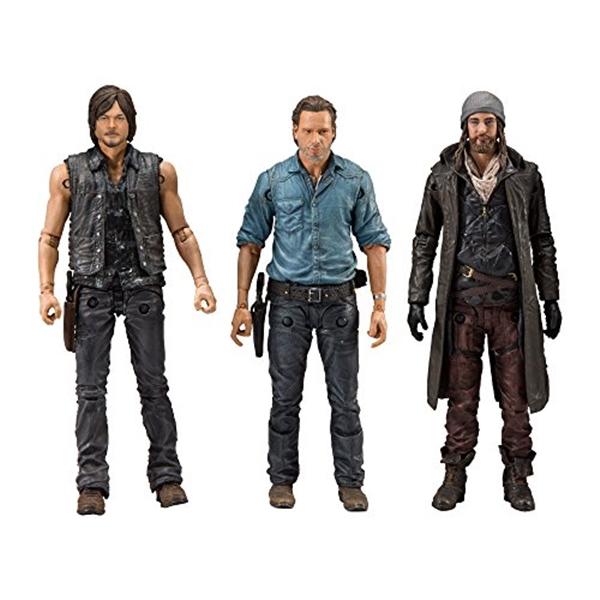 マクファーレン トイズ ウォーキングデッド アクションフィギュア ダイキャスト McFarlane Toys the Walking Dead Allies Deluxe Box Set Action Figure (3 Piece), 5