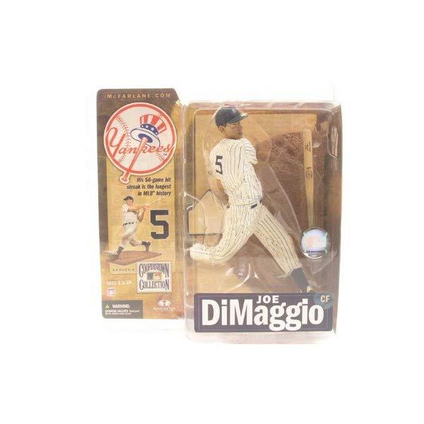 マクファーレン トイズ MLB メジャーリーグ ベースボール 大リーグ アクション フィギュア ダイキャスト McFarlane Toys MLB New York Yankees Cooperstown Collection Series 4 Joe DiMaggio Action Figure [Gray Uniform]