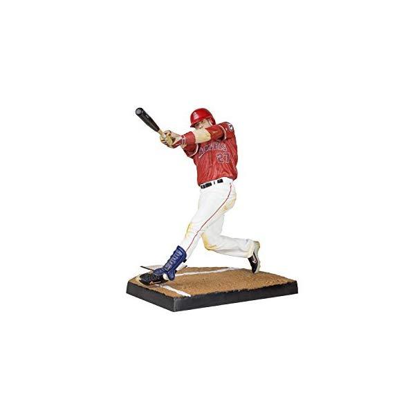 マクファーレン トイズ MLB メジャーリーグ ベースボール 大リーグ アクション フィギュア ダイキャスト McFarlane Toys MLB Series 33 Mike Trout Action Figure