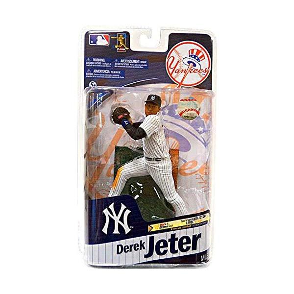 マクファーレン トイズ MLB メジャーリーグ ベースボール 大リーグ アクション フィギュア ダイキャスト McFarlane Toys Action Figure - MLB Sports Picks Series 27 - DEREK JETER