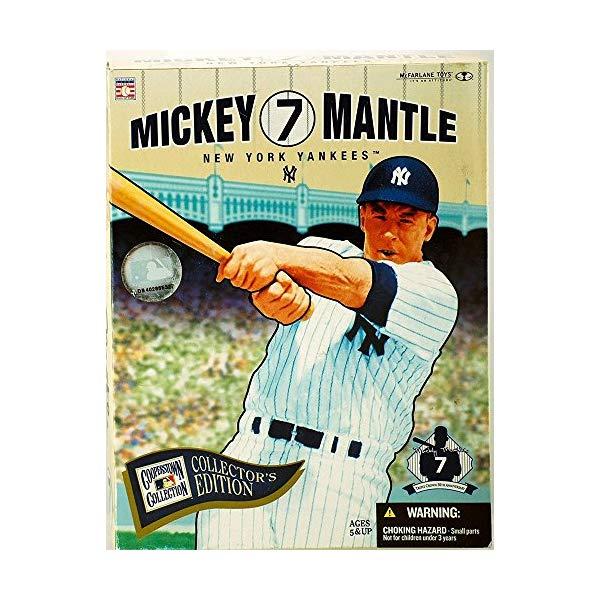 クリアランスsale!期間限定! マクファーレン トイズ MLB メジャーリーグ ベースボール 大リーグ アクション 至高 フィギュア ダイキャスト Toys - Mickey McFarlane Collector Mantle Edition Boxed