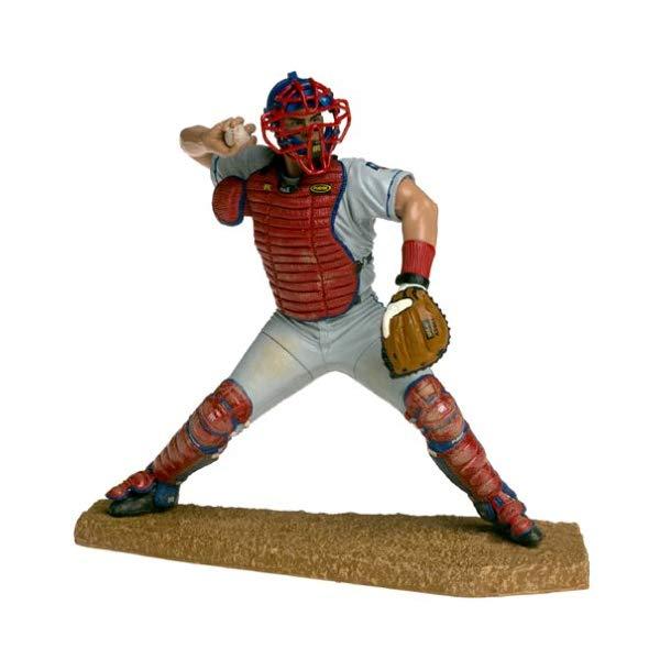 マクファーレン トイズ MLB メジャーリーグ ベースボール 大リーグ アクション フィギュア ダイキャスト McFarlane Toys MLB Sports Picks Series 1 Action Figure Ivan Rodriguez (Texas Rangers) Gray Jersey