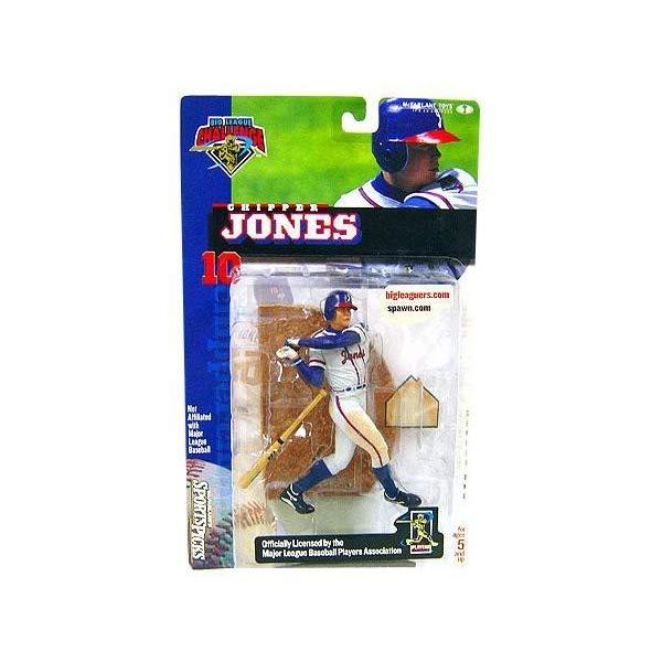 マクファーレン トイズ MLB メジャーリーグ ベースボール 大リーグ アクション フィギュア ダイキャスト McFarlane Toys MLB Sports Picks Club Exclusive Big League Challenge Action Figure Chipper Jones