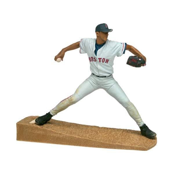 マクファーレン トイズ MLB メジャーリーグ ベースボール 大リーグ アクション フィギュア ダイキャスト McFarlane Toys MLB Sports Picks Series 1 Action Figure Pedro Martinez (Boston Red Sox) White Jersey
