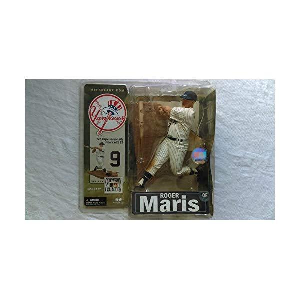 マクファーレン トイズ MLB メジャーリーグ ベースボール 大リーグ アクション フィギュア ダイキャスト McFarlane Toys MLB Cooperstown Series 4 Roger Maris New York Yankees (Pinstripes)