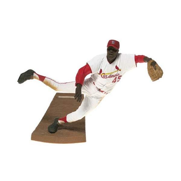 マクファーレン トイズ MLB メジャーリーグ ベースボール 大リーグ アクション フィギュア ダイキャスト McFarlane Toys MLB Cooperstown Collection Action Figure Bob Gibson White Jersey