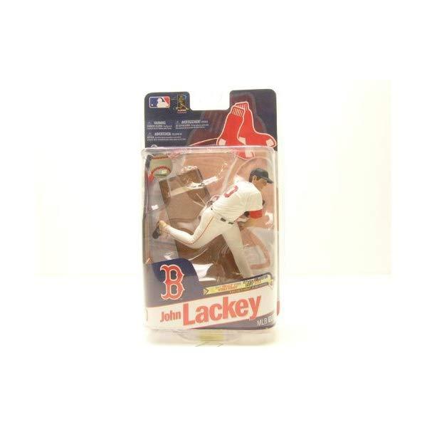 マクファーレン トイズ MLB メジャーリーグ ベースボール 大リーグ アクション フィギュア ダイキャスト McFarlane Toys MLB Sports Picks 2011 Elite Series Action Figure John Lackey (...