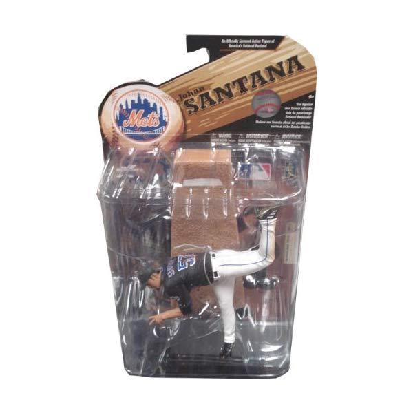 マクファーレン トイズ MLB メジャーリーグ ベースボール 大リーグ アクション フィギュア ダイキャスト McFarlane Sportspicks: MLB Series 24 Johan Santana Action Figure