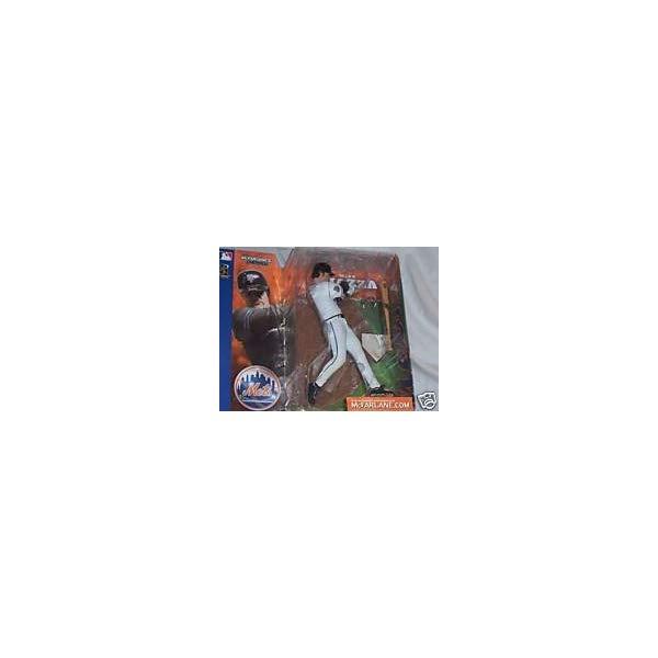 マクファーレン トイズ MLB メジャーリーグ ベースボール 大リーグ アクション フィギュア ダイキャスト McFarlane Toys MLB Sports Picks Series 1 Action Figure Mike Piazza (New York Mets) White Jersey Uniform Chase Alternate Variant