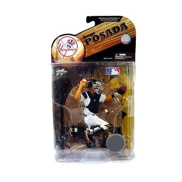 マクファーレン トイズ MLB メジャーリーグ ベースボール 大リーグ アクション フィギュア ダイキャスト McFarlane Toys MLB Sports Picks Exclusive Series 23 Action Figure Jorge Posada (New York Yankees)