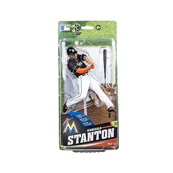マクファーレン トイズ MLB メジャーリーグ ベースボール 大リーグ アクション フィギュア ダイキャスト McFarlane Toys MLB Series 33 Giancarlo Stanton Action Figure