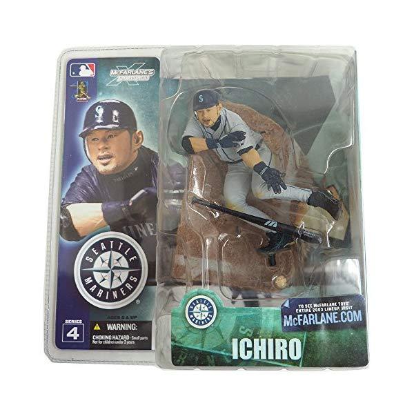 マクファーレン トイズ MLB メジャーリーグ ベースボール 大リーグ アクション フィギュア ダイキャスト McFarlane Sportspicks: MLB Series 4 Ichiro 2 (Chase Variant) Action Figure