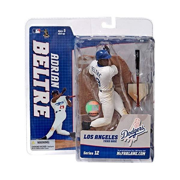 マクファーレン トイズ MLB メジャーリーグ ベースボール 大リーグ アクション フィギュア ダイキャスト McFarlane Toys MLB Los Angeles Dodgers Sports Picks Series 12 Adrian Beltre Action Figure [White Retro Jersey Variant]