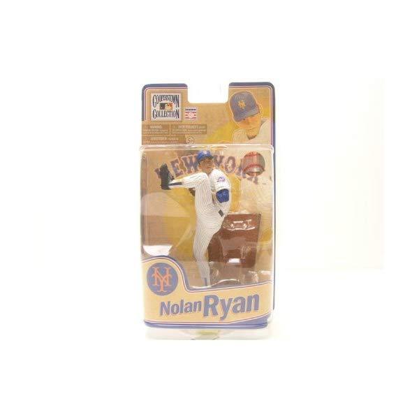 マクファーレン トイズ MLB メジャーリーグ ベースボール 大リーグ アクション フィギュア ダイキャスト McFarlane Toys MLB Cooperstown Series 8 Action Figure Nolan Ryan (New York Mets)