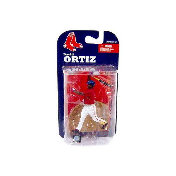 マクファーレン トイズ MLB メジャーリーグ ベースボール 大リーグ アクション フィギュア ダイキャスト McFarlane Toys MLB 3 Inch Sports Picks Series 7 Mini Figure David Ortiz (Boston Red Sox)