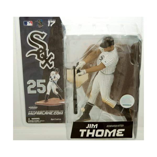 マクファーレン トイズ MLB メジャーリーグ ベースボール 大リーグ アクション フィギュア ダイキャスト McFarlane Toys MLB Sports Picks Series 17 Exclusive Action Figure Jim Thome (Chicago White Sox)