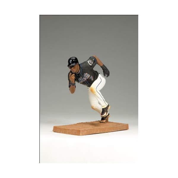 マクファーレン トイズ MLB メジャーリーグ ベースボール 大リーグ アクション フィギュア ダイキャスト McFarlane Toys MLB Series 25 Jose Reyes Figure New York Mets Black Jersey