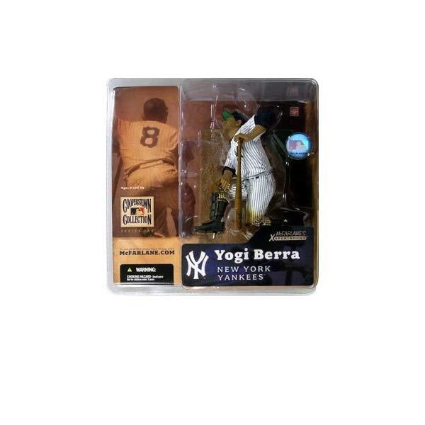 マクファーレン トイズ MLB メジャーリーグ ベースボール 大リーグ アクション フィギュア ダイキャスト McFarlane Toys MLB Cooperstown Series 1 Action Figure Yogi Berra (New York Yankees) Shiny Hat