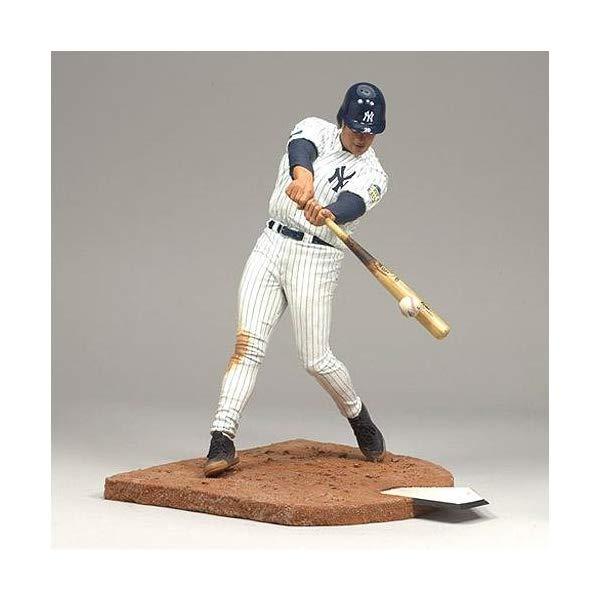 マクファーレン トイズ MLB メジャーリーグ ベースボール 大リーグ アクション フィギュア ダイキャスト McFarlane SportsPicks MLB Series 21: Jorge Posada 2 - New York Yankees