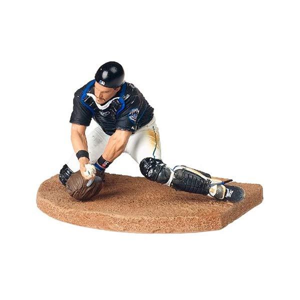 マクファーレン トイズ MLB メジャーリーグ ベースボール 大リーグ アクション フィギュア ダイキャスト MLB Series 11 Figure: Mike Piazza with Mets Black Jersey
