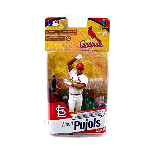 マクファーレン トイズ MLB メジャーリーグ ベースボール 大リーグ アクション フィギュア ダイキャスト St. Louis Cardinals Mcfarlane 2010 MLB Series 26 Albert Pujols Figures