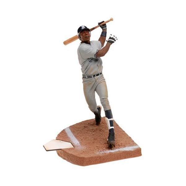 マクファーレン トイズ MLB メジャーリーグ ベースボール 大リーグ アクション フィギュア ダイキャスト MLB Series 8 Figure: Alfonso Soriano with Gray Yankees Jersey