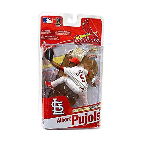 マクファーレン トイズ MLB メジャーリーグ ベースボール 大リーグ アクション フィギュア ダイキャスト MLB Series 27 Albert Pujols 5 - Cardinals Action Figure