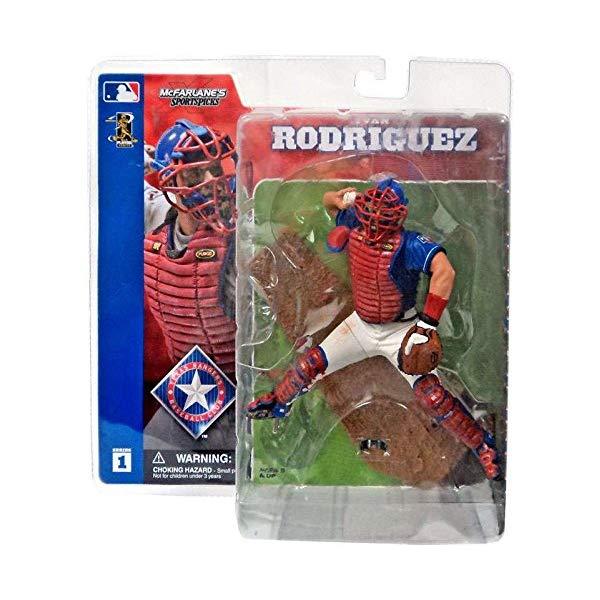 マクファーレン トイズ MLB メジャーリーグ ベースボール 大リーグ アクション フィギュア ダイキャスト McFarlane Toys MLB Sports Picks Series 1 Action Figure Ivan Rodriguez Rangers