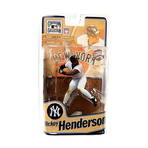 マクファーレン トイズ ベースボール MLB Series メジャーリーグ ベースボール 大リーグ アクション フィギュア ダイキャスト ダイキャスト MLB Cooperstown Series 8 Rickey Henderson Yankees Figure, RICK STORE:4796e0f6 --- sunward.msk.ru