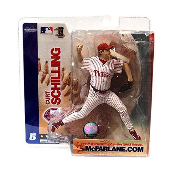 マクファーレン トイズ MLB メジャーリーグ ベースボール 大リーグ アクション フィギュア ダイキャスト Mcfarlane MLB Series 5 Curt Schilling Philadelphia Phillies Chase by Unknown