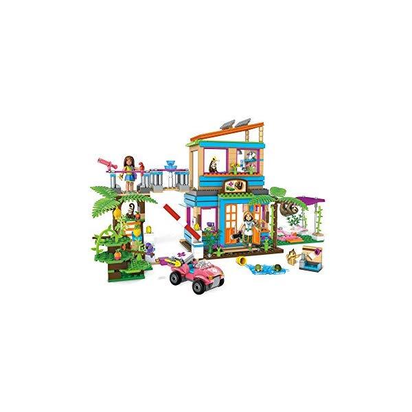 メガブロック メガコンストラックス アメリカンガール ブロック おもちゃ 知育玩具 お誕生日プレゼント Mega Construx American Girl Lea's 2-In-1 Rainforest Sanctuary Construction Set