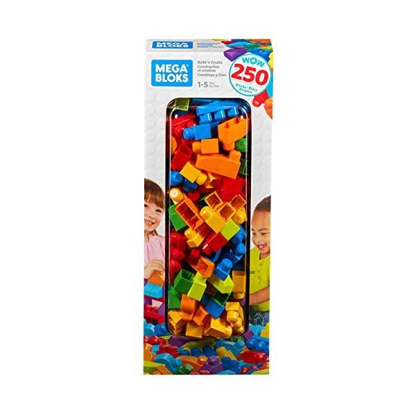 メガブロック ブロック おもちゃ 知育玩具 お誕生日プレゼント Fisher Price Mega Bloks WOW 250 Blocks