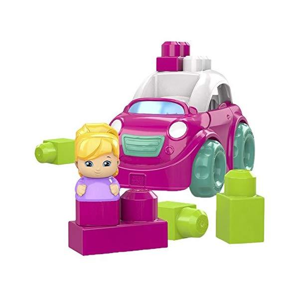 メガブロック ブロック おもちゃ 知育玩具 お誕生日プレゼント Mega Bloks Pink Convertible Building Set
