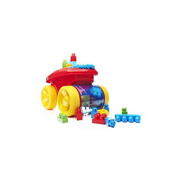 メガブロック ファーストビルダーズ ブロック おもちゃ 知育玩具 お誕生日プレゼント Mega Bloks First Builders Block Scooping Wagon