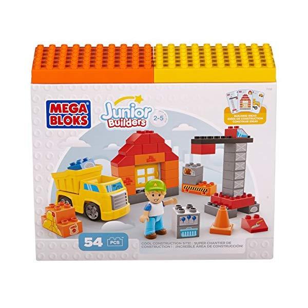 メガブロック ブロック おもちゃ 知育玩具 お誕生日プレゼント Building Blocks Cool Construction Site